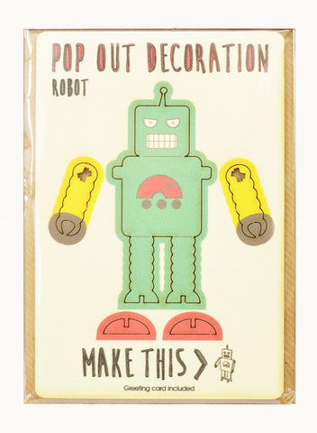 Pop Out Card- Robot