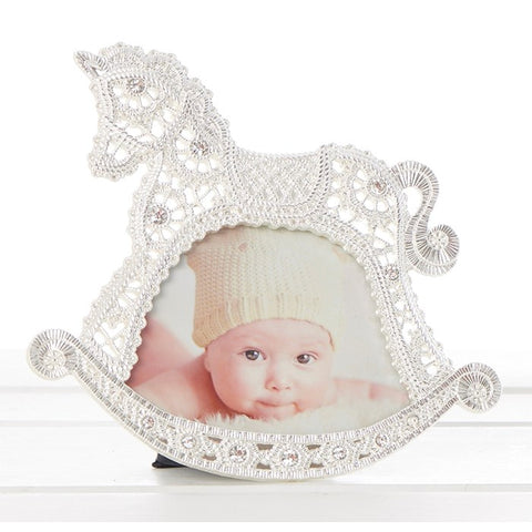 Baby Lace Horse Frame 3x4
