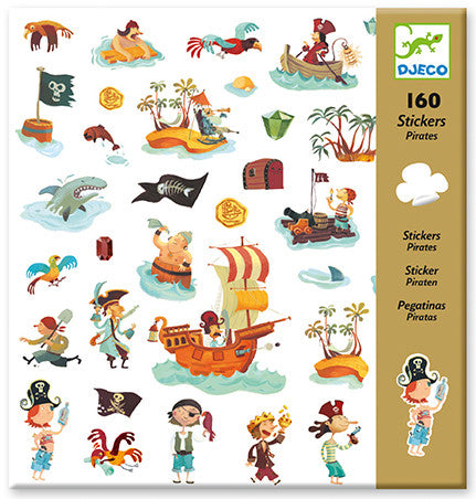 Djeco Stickers - Pirates