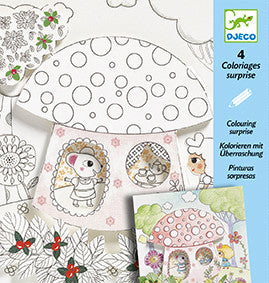 Djeco Colouring Surprise - Peek Thumbelina