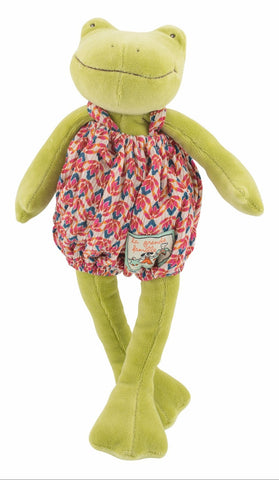 Moulin Roty - Perlette the Frog Soft Toy