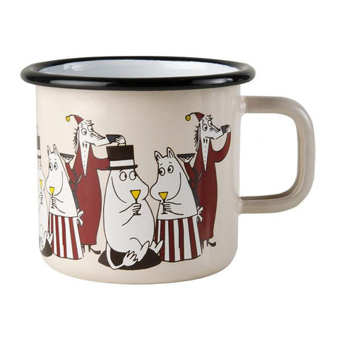 Moomin Friends Mamma & Pappa Mug 3.7 dl