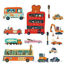 Wall Stickers - Vehicles