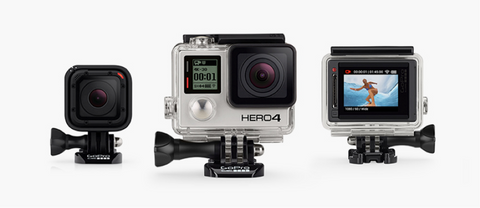 GoPro line up goclear