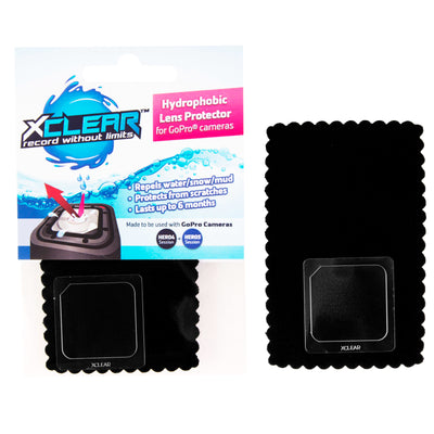 XCLEAR hydrophobic protector for GoPro Hero 4/5 session. The best way to reduce water drops from sticking to the GoPro lens for up to 6 months.