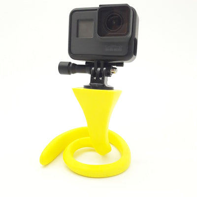 XCLEAR FLEX range of Mounts. Super versatile bendy banana mount by XCLEAR for GoPro.