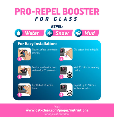 <b>PRO-REPEL BOOSTER</b> <i>for glass</i>