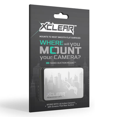 The XCLEAR Nano-Suction Mount.