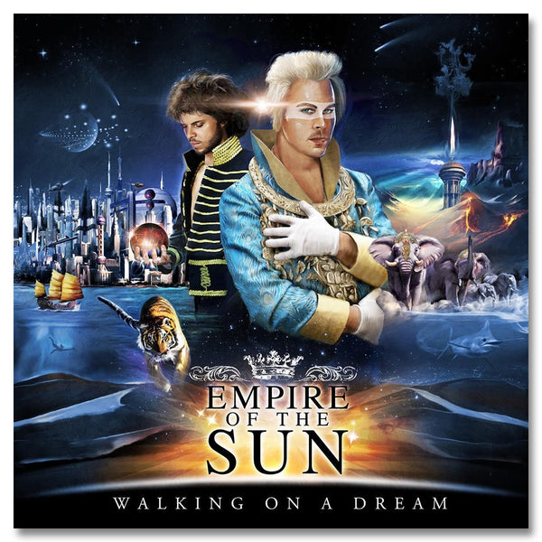 Official Empire Of The Sun Walking On A Dream CD