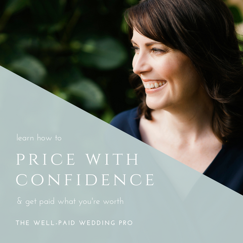 The Well-Paid Wedding Pro: Profitable Pricing Strategies