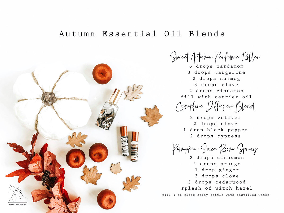 Oils For Autumn Astrobarn Design
