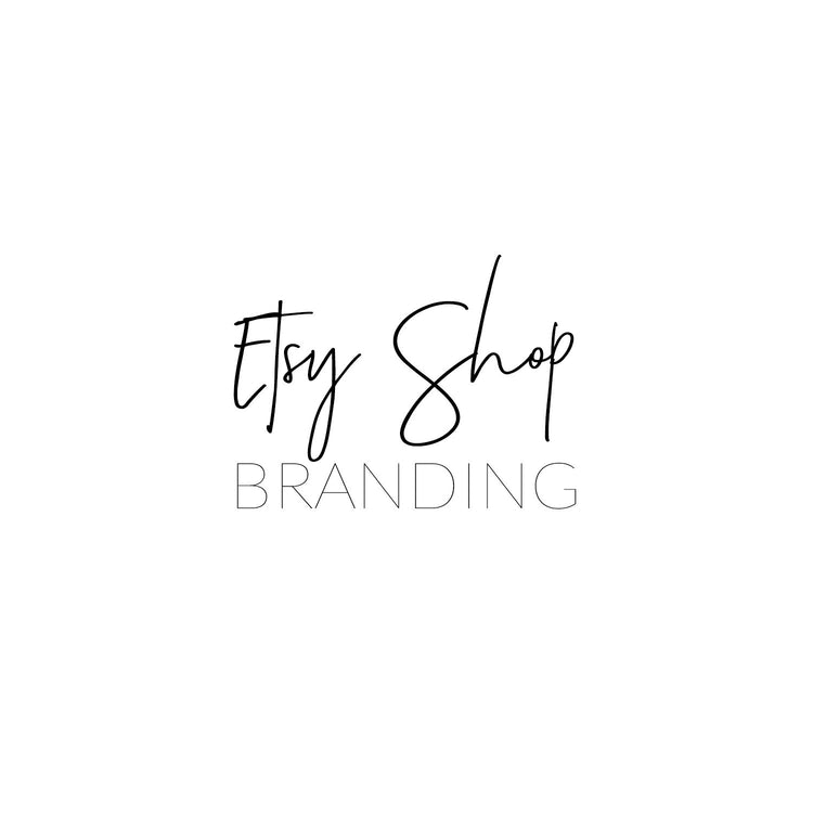 Etsy Shop Branding Design Package
