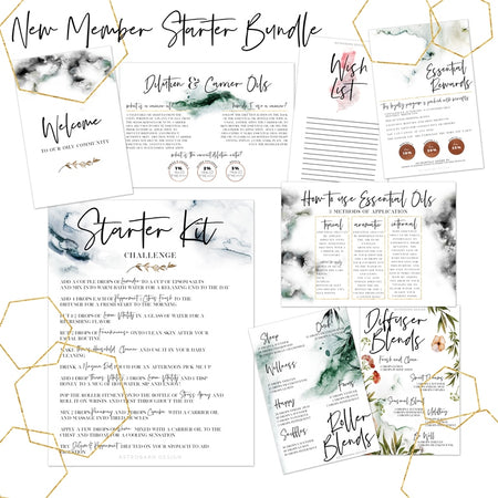 YLEO New Member Welcome Bundle Printable