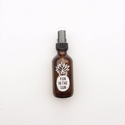 Pineapple Fun in the Sun label for essential oils mixtures