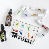 Kids Labels for Essential Oils