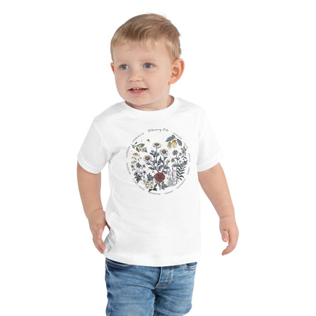 Blooming Oils Toddler Short Sleeve Tee