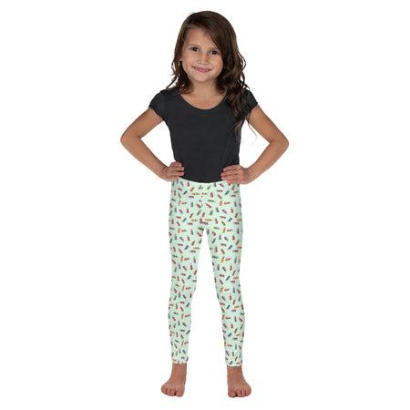 YLEO Mint Kid's Leggings