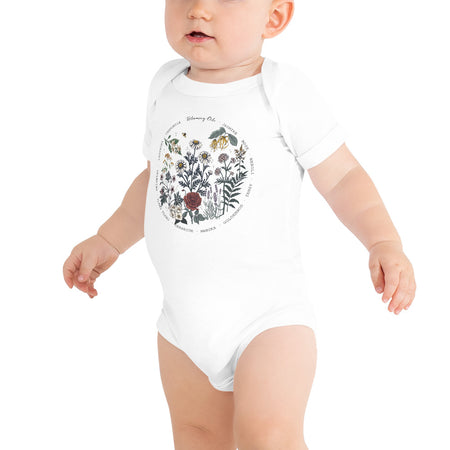 Blooming Oils Baby Onesie
