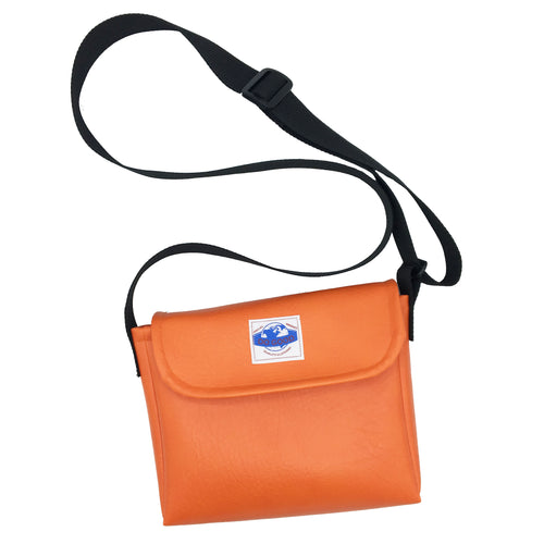 Orange Vegan Leather Side Bag - Do Good