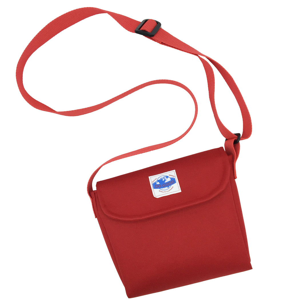 Red Cordura Side Bag - Do Good