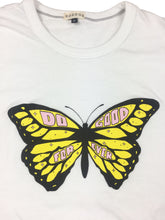"Butterfly ""Do Good"" T-Shirt - White Collar - Do Good"
