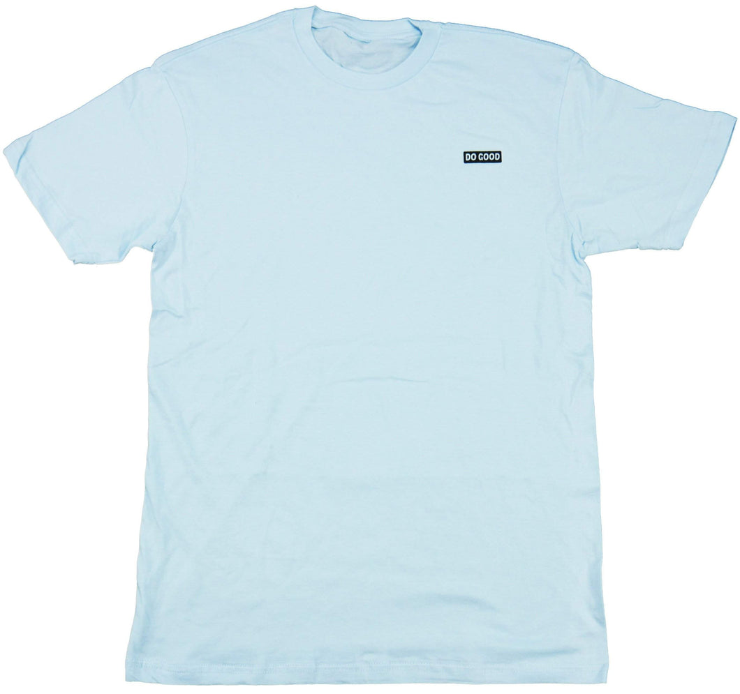 Do Good Logo T-Shirt - Baby Blue - Do Good