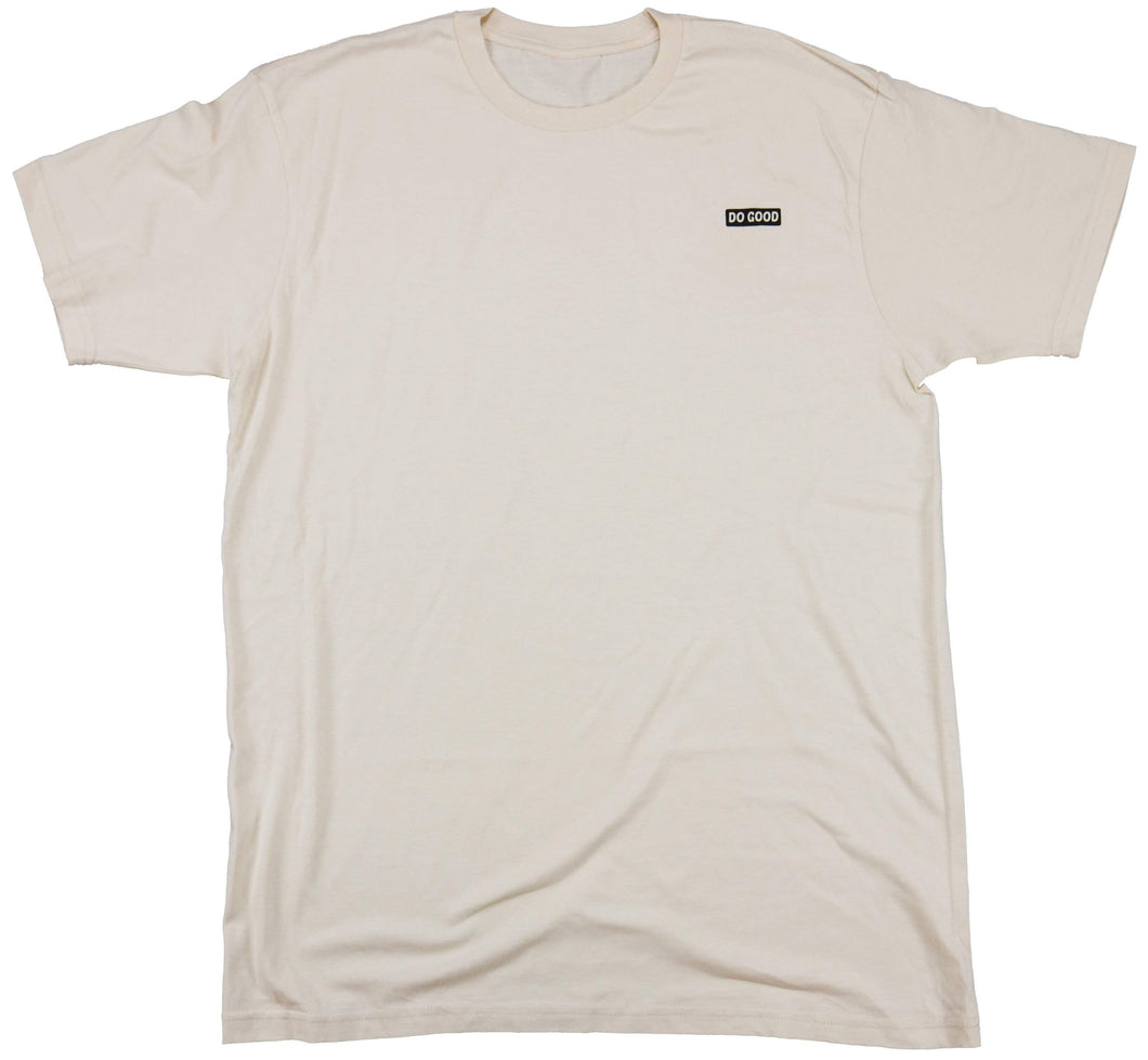 Do Good Logo T-Shirt - Beige - Do Good