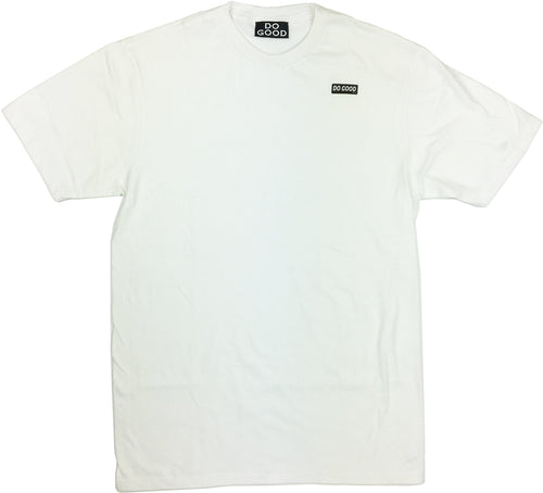 Do Good Logo T-Shirt - White - Do Good
