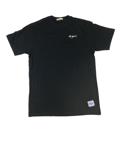 Script Logo T-Shirt- Black - Do Good