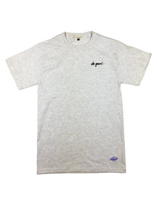 Script Logo T-Shirt - Gray - Do Good