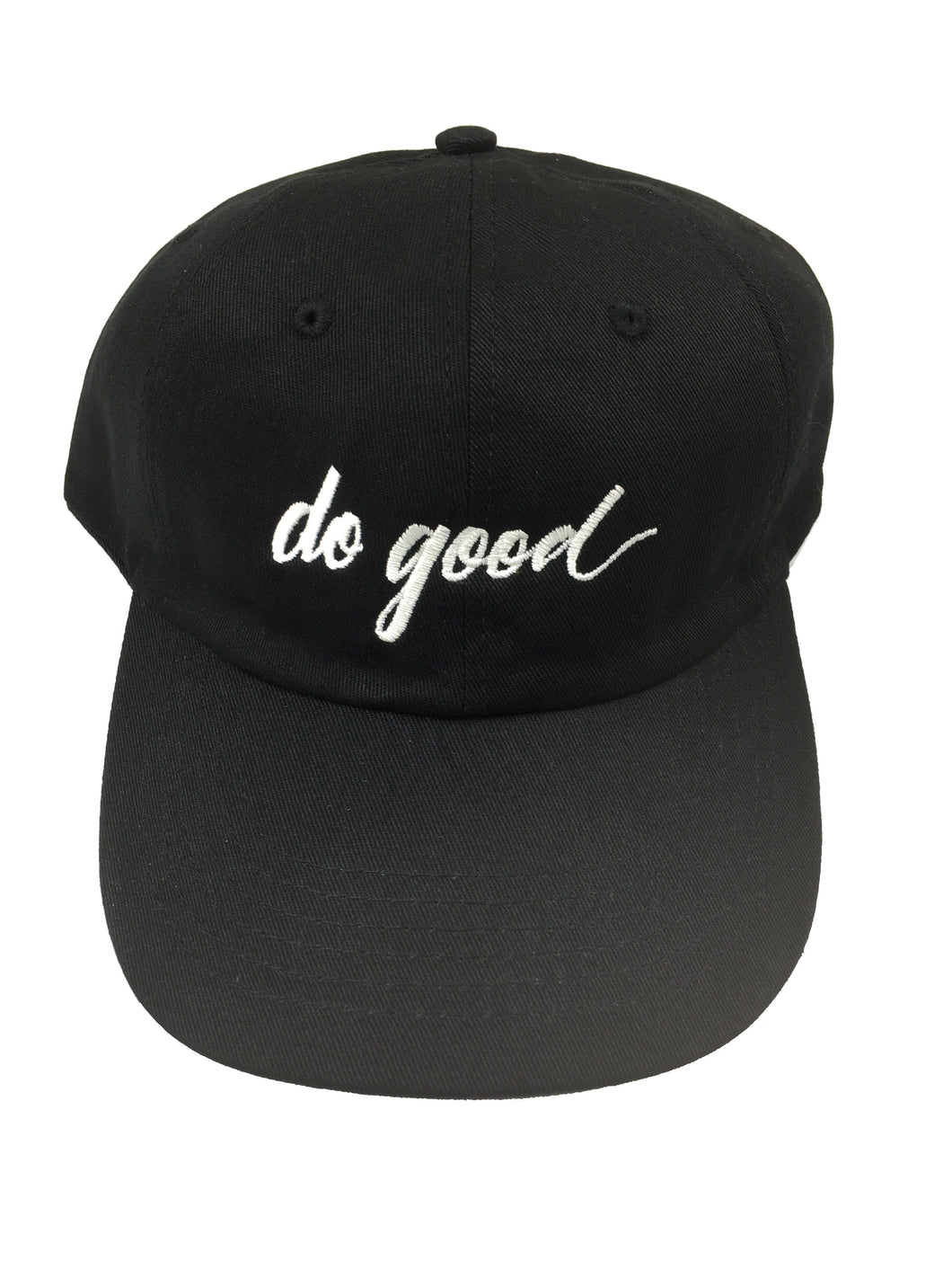 Do Good Script Hat - Black - Do Good