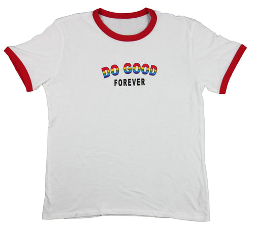 Ononono Ringer Do Good Forever Tee - Do Good