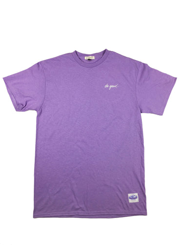 Script Logo T-Shirt - Lavender - Do Good