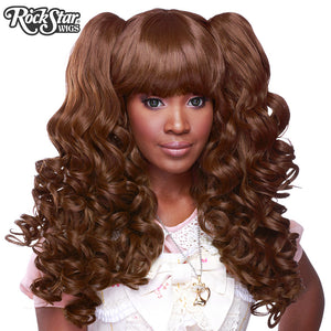 Gothic Lolita Wigs® <br> Baby Dollight™ Collection - 00006 Chocolate Brown Mix