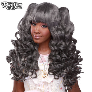 Gothic Lolita Wigs® <br> Baby Dollight™ Collection - 00012  Dark Grey Mix