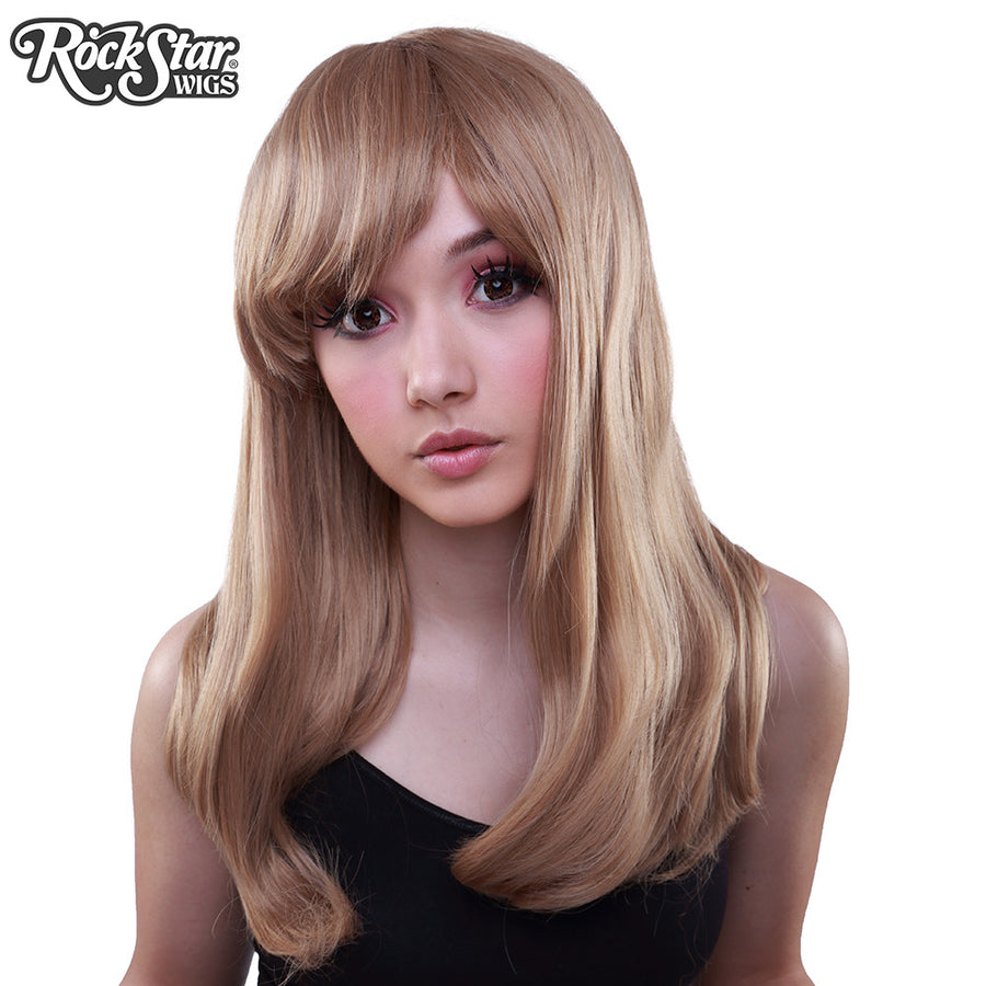 Gothic Lolita Wigs® <br> Straight Classic™ Collection - Milk Tea Mix -00034