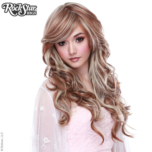 Gothic Lolita Wigs® <br> Duplicity™ Collection - Caramelized Blonde -00155