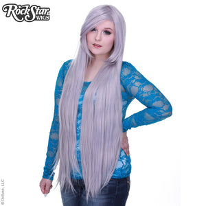 "Cosplay Wigs USA™ <br> Straight 100cm/40"" - Silver -00359"