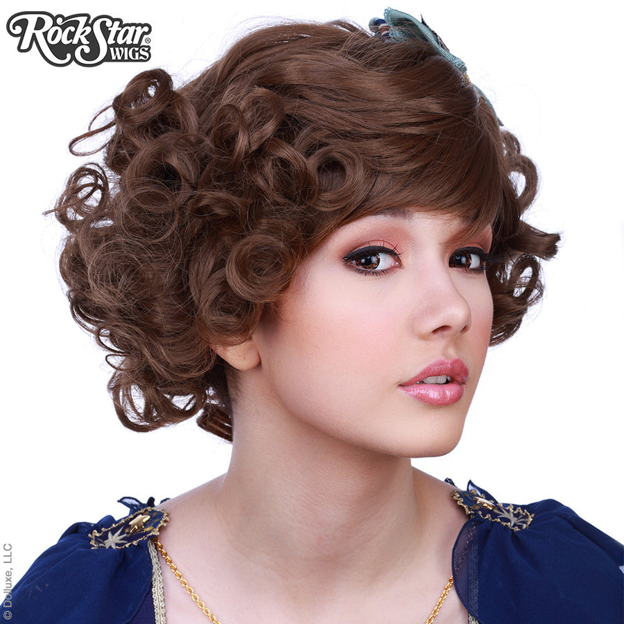 Gothic Lolita Wigs® <br> Curly Bob™ - Brown Mix -00499