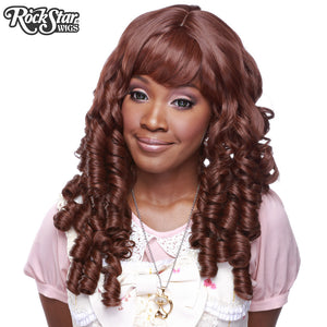 Gothic Lolita Wigs® <br> Ringlet Redux™ Collection - Chocolate Brown Mix -00504