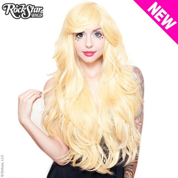 "RockStar Wigs® <br> Hologram 32"" - Light Blonde Mix -00618"