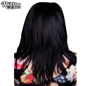 "Lace Front 18"" Layered Yaki - Black- 00790"