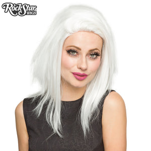 "Lace Front 18"" Layered Yaki - White 00791"
