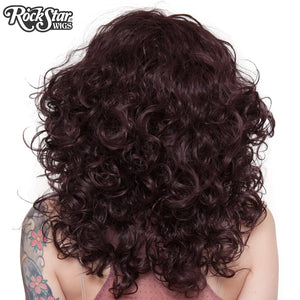 "Lace Front 20"" Medium Curly - Black Rose -00770"
