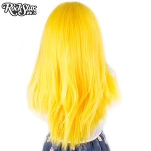 "Lace Front 24"" Long Straight - Golden Yellow - 00192"