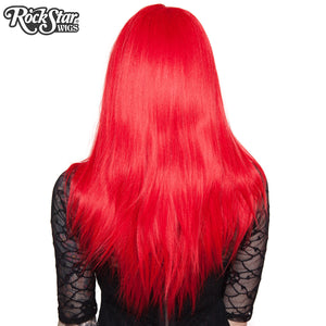 "Lace Front 24"" Long Straight - Red Mix - 00186"