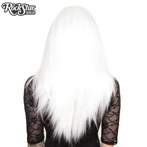 "Lace Front 24"" Long Straight - White -00185"