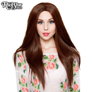 "Lace Front 26"" Yaki Straight - Chocolate Brown -00780"