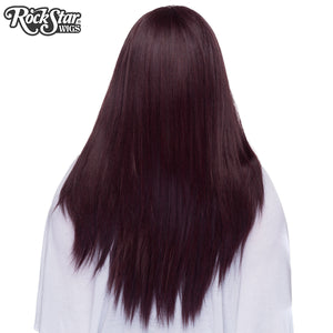 "Lace Front 26"" Yaki Straight - Black Rose -00782"