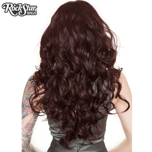 "Lace Front 30"" Long Wavy - Black Rose - 00772"